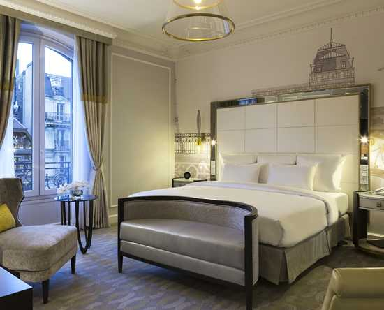 Hilton Paris Opera, Frankrijk- Executive kamer