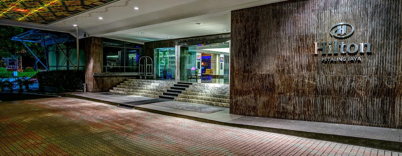 โรงแรม Hilton Petaling Jaya มาเลเซีย - ทางเข้าล็อบบี้