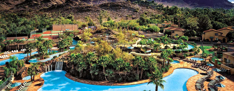 Hôtel Pointe Hilton Squaw Peak Resort, Phoenix, Arizona - Magnifique piscine extérieure