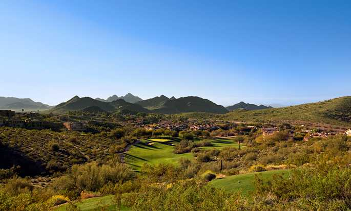 Complexes de Phoenix, Arizona - Hôtel Pointe Hilton Tapatio Cliffs Resort - Parcours de golf de Lookout Mountain
