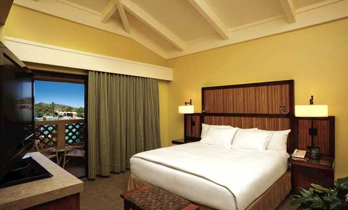 Complexes de Phoenix, Arizona - Hôtel Pointe Hilton Tapatio Cliffs Resort - Chambre d'une suite standard