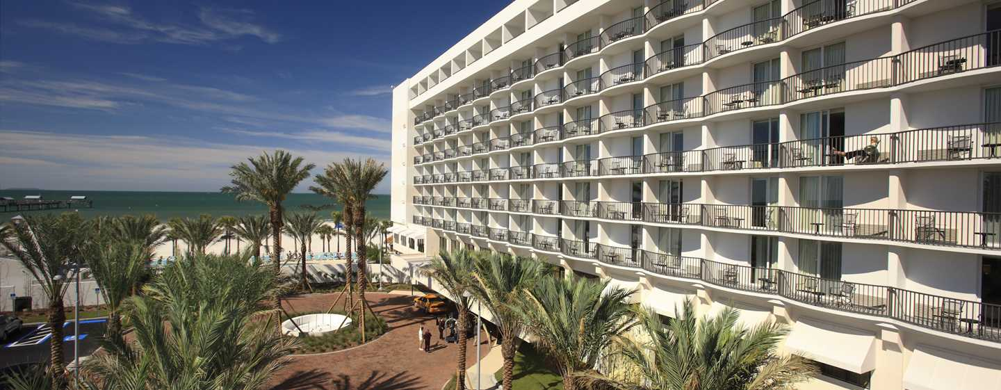 Hilton Clearwater Beach Resort & Spa Hotel, Florida - Exterior do hotel