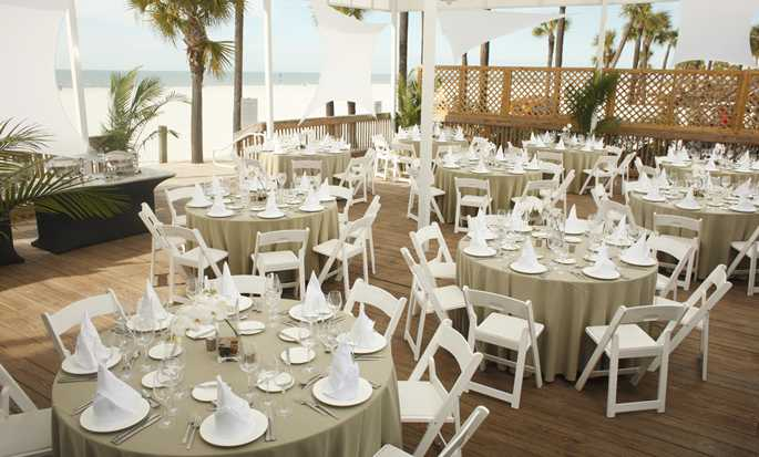 Hilton Clearwater Beach Resort & Spa, Fla. - Outdoor Event