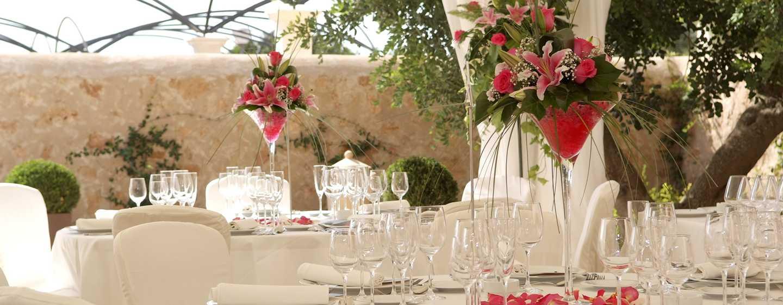 Hilton Sa Torre Mallorca Resort, España - Recepción de bodas