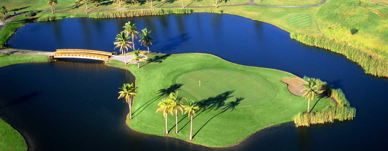 Hilton Ponce Golf & Casino Resort, Puerto Rico - Campo de golf Island Green