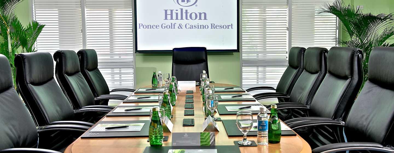 Hilton Ponce Golf & Casino Resort, Puerto Rico - Sala de juntas