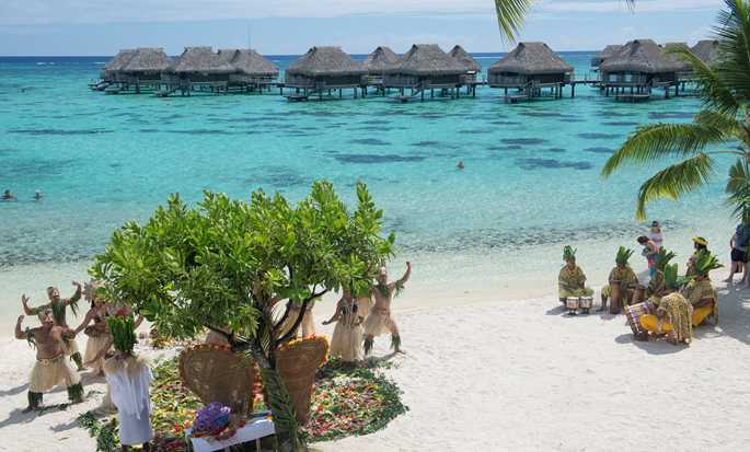 Hotel Hilton Moorea Lagoon Resort and Spa - Casamento