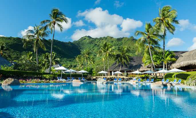 Hotel Hilton Moorea Lagoon Resort and Spa - Piscina