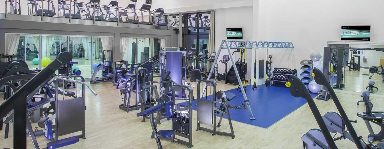 Hotel Hilton Prague, Česká republika – LivingWell fitness centrum