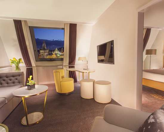 Hilton Prague Old Town, Tsjechië - King Executive suite