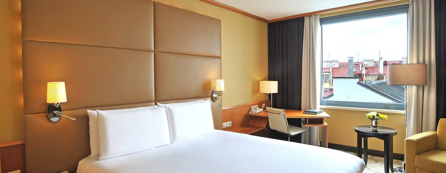Hotel Hilton Prague Old Town, Repubblica Ceca - Camera Hilton con letto queen size