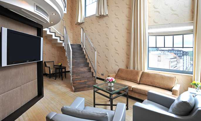 Hotel Hilton Prague Old Town, Repubblica Ceca - Suite Penthouse con letto king size