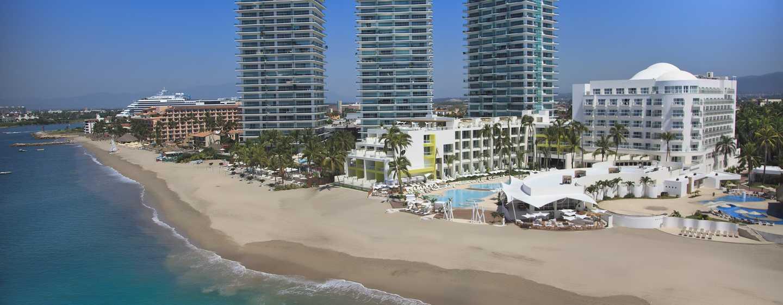 Hilton Puerto Vallarta Resort, México - Fachada del hotel