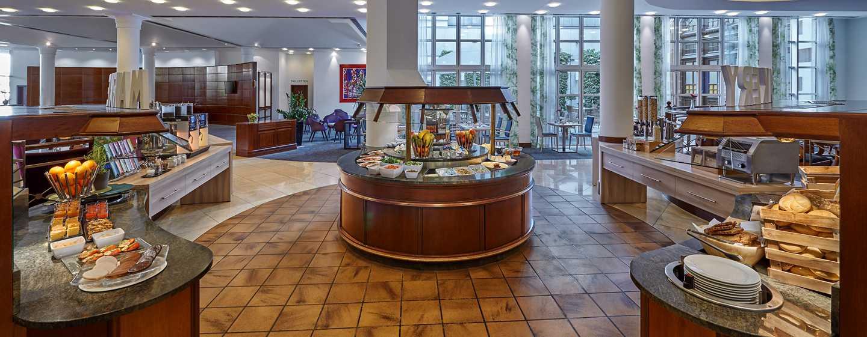 Hilton Mainz City Hotel, Deutschland– Frühstücksbuffet