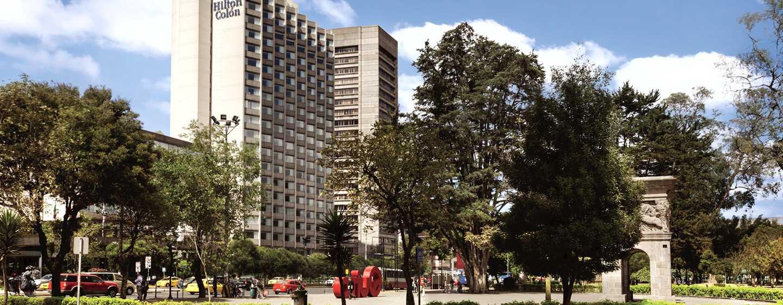 Hotel Hilton Colon Quito, Ecuador - Fachada del hotel