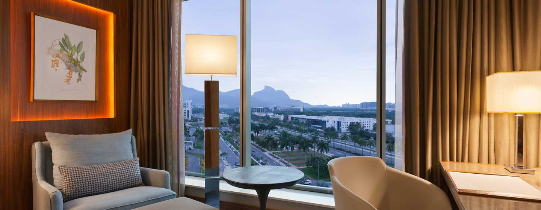 Hotel Hilton Barra Rio de Janeiro, Brasil - Habitación Executive con cama King
