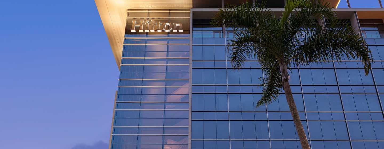 Hotel Hilton Barra Rio de Janeiro, Brasil - Fachada del hotel