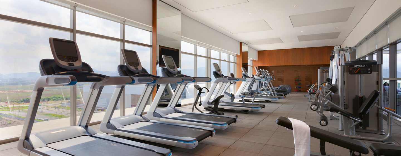 Hotel Hilton Barra Rio de Janeiro, Brasil - Gimnasio con acceso de cortesía