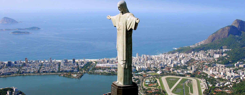 Hotel Hilton Barra Rio de Janeiro, Brasil - Cristo Redentor