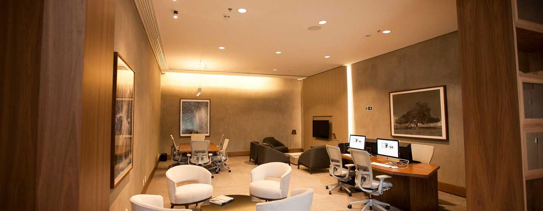 Hotel Hilton Barra Rio de Janeiro, Brasil - Centro de negocios las 24 horas