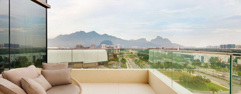 Hotel Hilton Barra Rio de Janeiro, Brasil - Suite Presidential con cama King