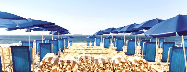 Hotel Hilton Rio de Janeiro Copacabana, Brasil - Servicio de playa
