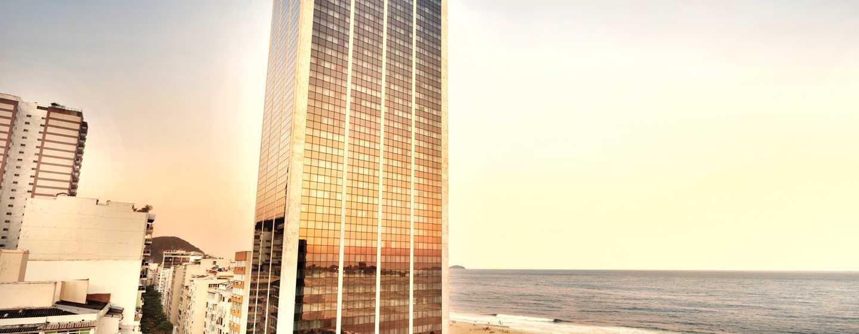 Hotel Hilton Rio de Janeiro Copacabana, Brasil - Fachada del hotel