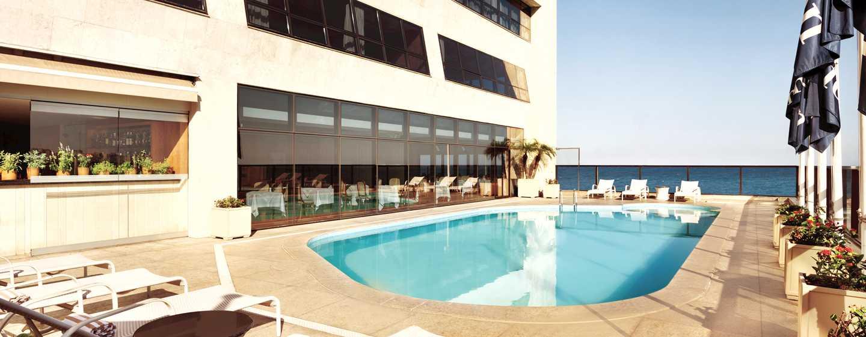Hotel Hilton Rio de Janeiro Copacabana, Brasil - Piscina de la planta 4