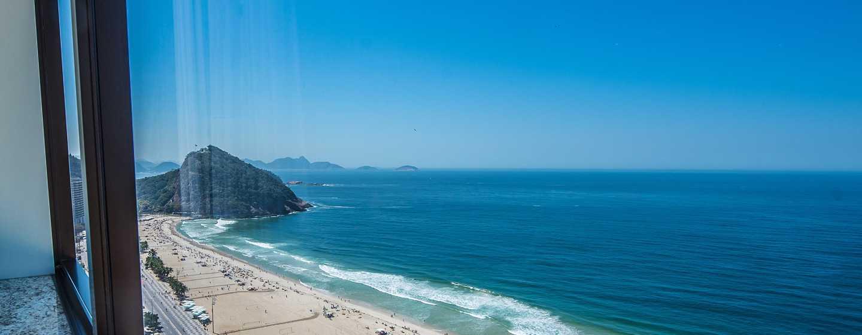 Hotel Hilton Rio de Janeiro Copacabana, Brasil - Habitación frente al mar