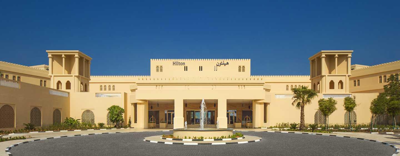 Hilton Al Hamra Beach & Golf Resort -hotelli, Ras Al Khaimah, Yhdistyneet arabiemiirikunnat – hotellin ympäristö