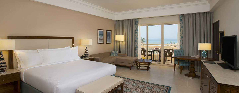 Hilton Al Hamra Beach & Golf Resort -hotelli, Ras Al Khaimah, Yhdistyneet arabiemiirikunnat – päärakennuksen huoneet