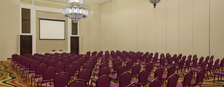 Hilton Al Hamra Beach & Golf Resort -hotelli, Ras Al Khaimah, Yhdistyneet arabiemiirikunnat – Al Shamal – kongressikeskus