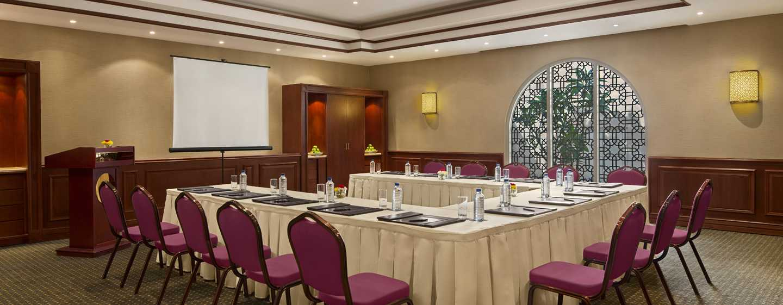 Hilton Al Hamra Beach & Golf Resort -hotelli, Ras Al Khaimah, Yhdistyneet arabiemiirikunnat – Al Shamal – kokoushuoneet
