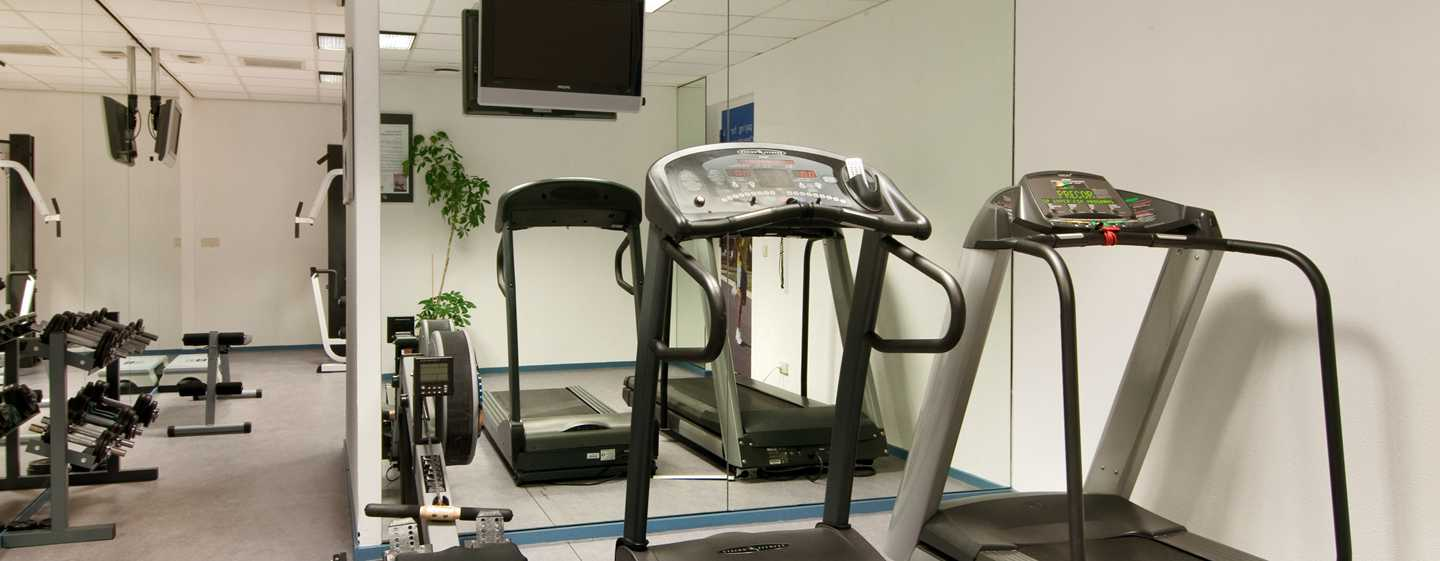 Hilton Rotterdam hotel, Netherlands - Fitness Center
