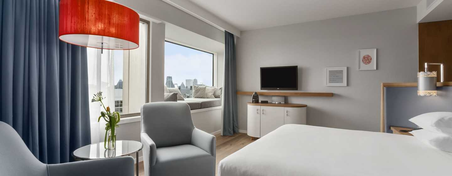 Hilton Rotterdam hotel, Netherlands - King Junior Suite