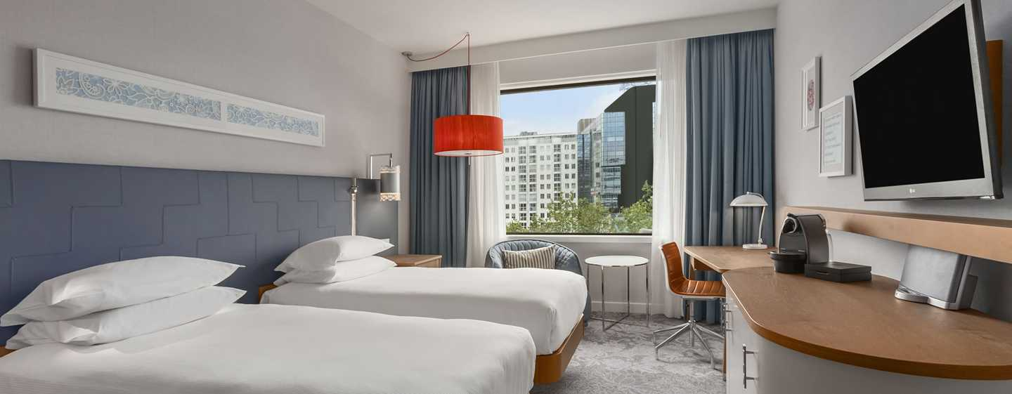 Hilton Rotterdam hotel, Netherlands - Twin Hilton Executive Room