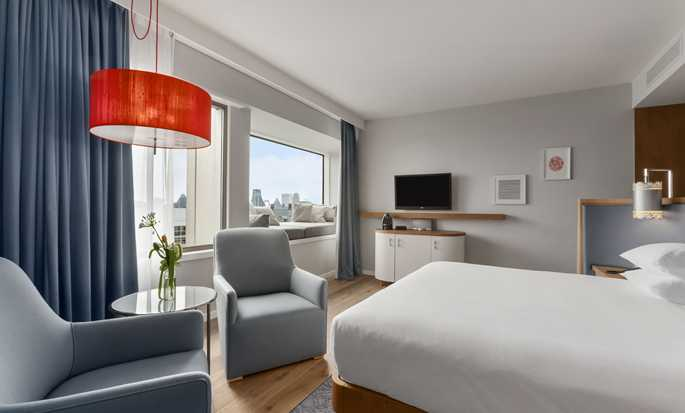 Hilton Rotterdam hotel, Nederland - King junior suite