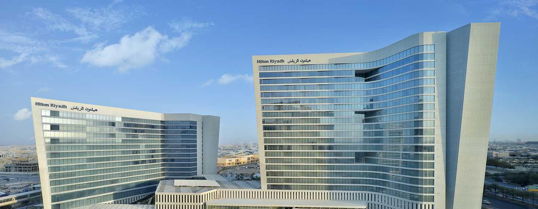 Hôtel Hilton Riyadh Hotel & Residences - Extérieur de l'hôtel