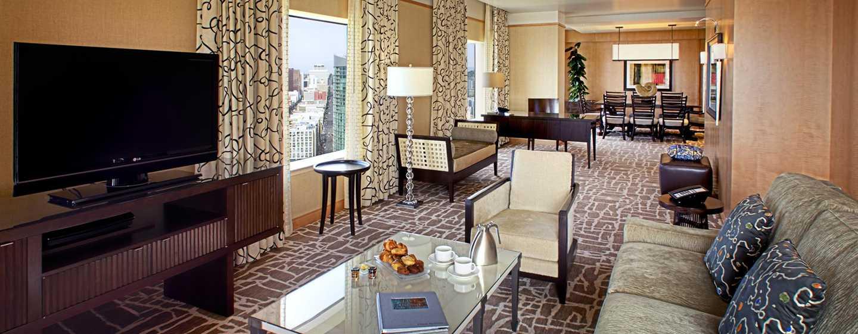 Hilton San Diego Bayfront, Kalifornien, USA– Wohnzimmer