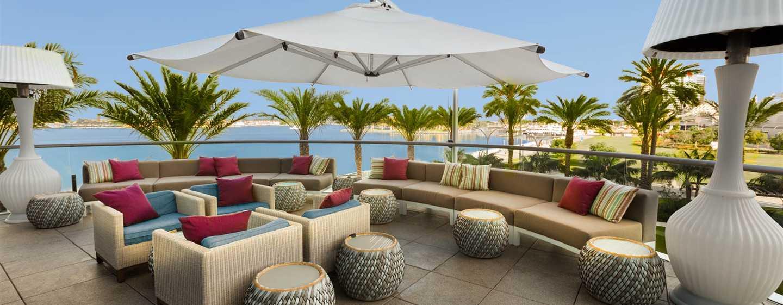 Hilton San Diego Bayfront, Kalifornien, USA– Patio