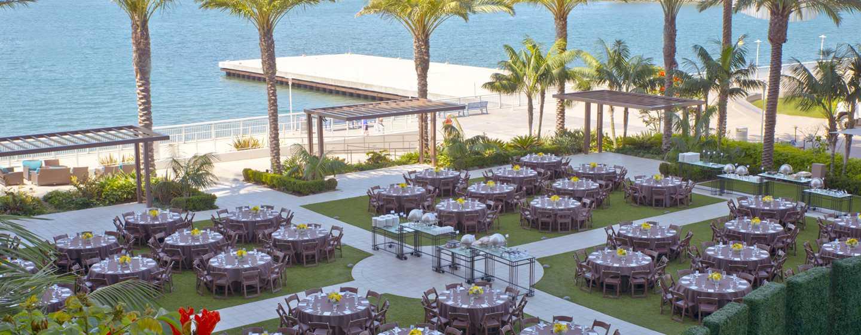 Hilton San Diego Bayfront, Kalifornien, USA– Veranstaltungsfläche unter freiem Himmel
