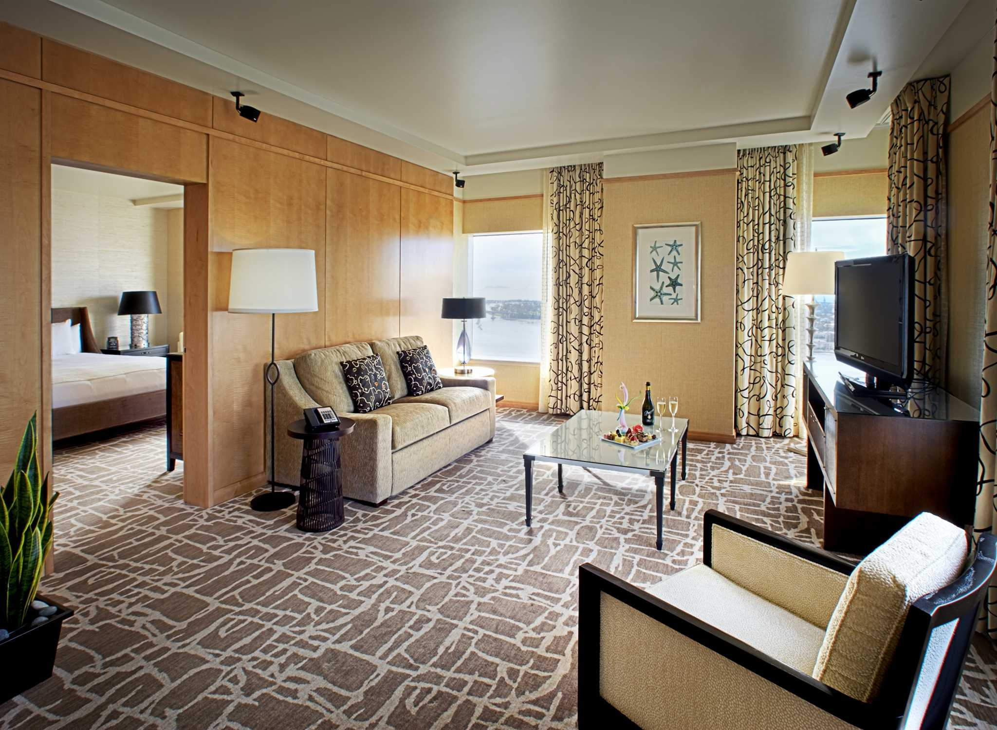 Hilton San Diego Bayfront, Califórnia, EUA U2013 Suíte Presidential