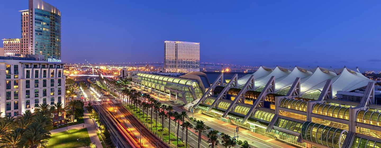 Hilton San Diego Gaslamp Quarter, Estados Unidos - Fachada del hotel