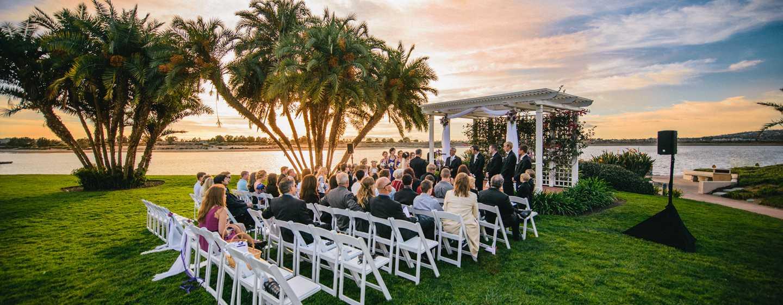 Hilton San Diego Resort  Spa, Estados Unidos , Boda al aire libre