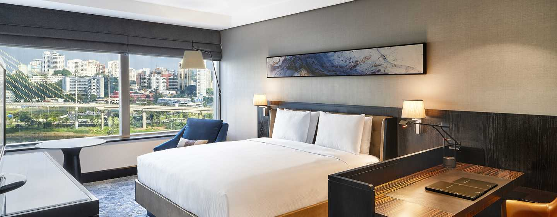 Hotel Hilton São Paulo Morumbi, Brasil – Quarto Deluxe King