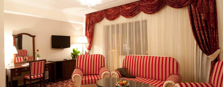Hotel Hilton Sibiu, România – Apartament cu zonă de zi