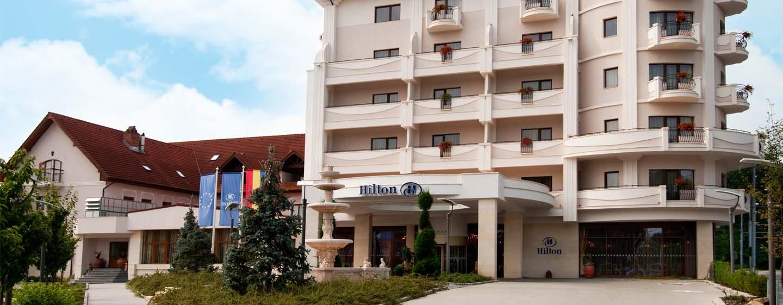Hotel Hilton Sibiu, România – Exteriorul hotelului
