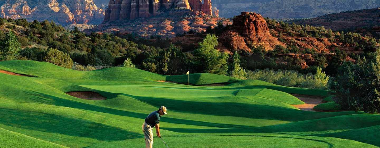 Hilton Sedona Resort at Bell Rock Hotel, Arizona - Campo de golf de 18 hoyos de nivel profesional