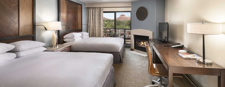 Hilton Sedona Resort at Bell Rock Hotel, Arizona - Habitación deluxe con dos camas Queen