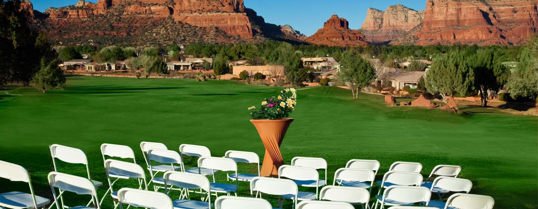Hotel Hilton Sedona Resort at Bell Rock, Arizona - Boda
